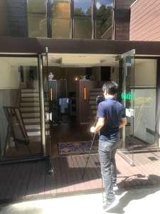 ヒルサイド倶楽部 インドアビュー 撮影風景2