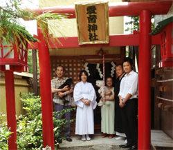 愛育神社タイアップイメージ